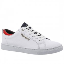 TOMMY HILFIGER ZAPATILLAS DEPORTIVAS CITY CON DETALLES METALIZADOS FW0FW03776 100 WHITE TOM044