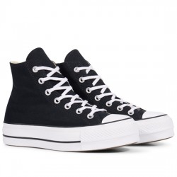 CONVERSE CHUCK TAYLOR ALL STAR LIFT - HI 560845C BLACK/WHITE/WHITE CON059
