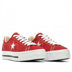 1d1211e6 ... CONVERSE ONE STAR PLATFORM - OX 564032C GYM RED/WHITE/DARK OBSIDIAN  CON062