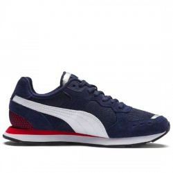 PUMA SOFT-FOAM VISTA 369365 02 SNEAKER PEACOAT/WHITE/RED PUMA009
