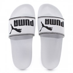 PUMA LEADCAT 360263 08 PALA UNISEX WHITE/BLACK PUMA013
