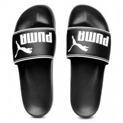 PUMA LEADCAT 360263 01 PALA UNISEX BLACK/WHITE PUMA014