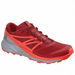 SALOMON SENSE RIDE 2 406010 33 V0 RED DAHLIA/CHERRY TOMATO/QUARRY SAL024
