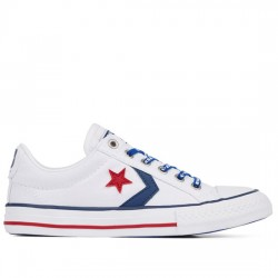 CONVERSE STAR PLAYER EV OX 663992C WHITE/NAVY/GYM RED CON064