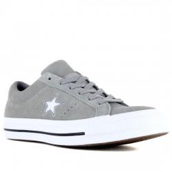 CONVERSE ONE STAR OX SERRAJE UNISEX 163384C DOLPHIN/WHITE/WHITE CON067