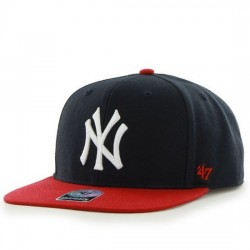 47 BRAND GORRA NUEVA YORK YANKEES SURE SHOT TWO TONE '47 CAPITÁN B-SRSTT17WBP-NYA BLACK/RED FOSE001