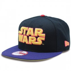 NEW ERA GORRA STAR WARS EMEA 9FIFTY 70318519 NEGRO/PÚRPURA NEWE001