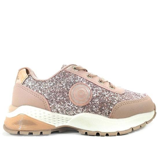 Zapatillas con Luces de Niña Glitter Rosa en 2019   Zapatos
